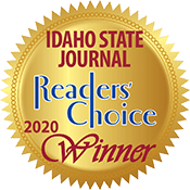 Idaho State Jourrnal Readers Choice 2020 Winner