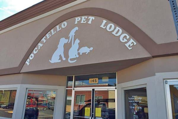 Pocatello Pet Lodge storefront