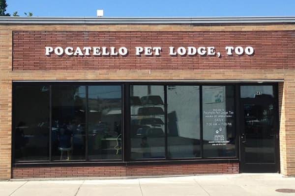 Pocatello Pet Lodge, Too storefront